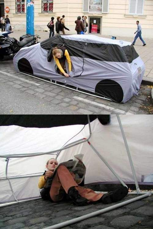 Tent Camping for the City Dweller