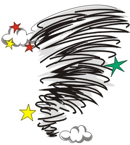 Twister Tornado Clip Art Our Encounters With Ex...