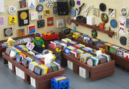 lego record shop
