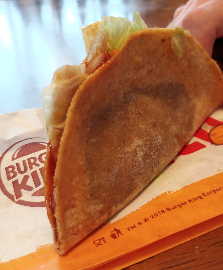 Ads Vs Reality The Burger King Taco The West Virginia Surf Report