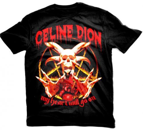 Celine Dion Concert Shirt