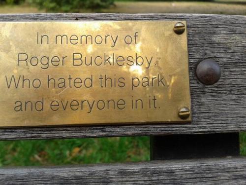 In memory of..