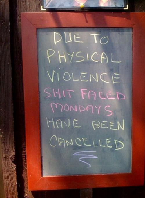shitfaced Mondays are canceled (1)